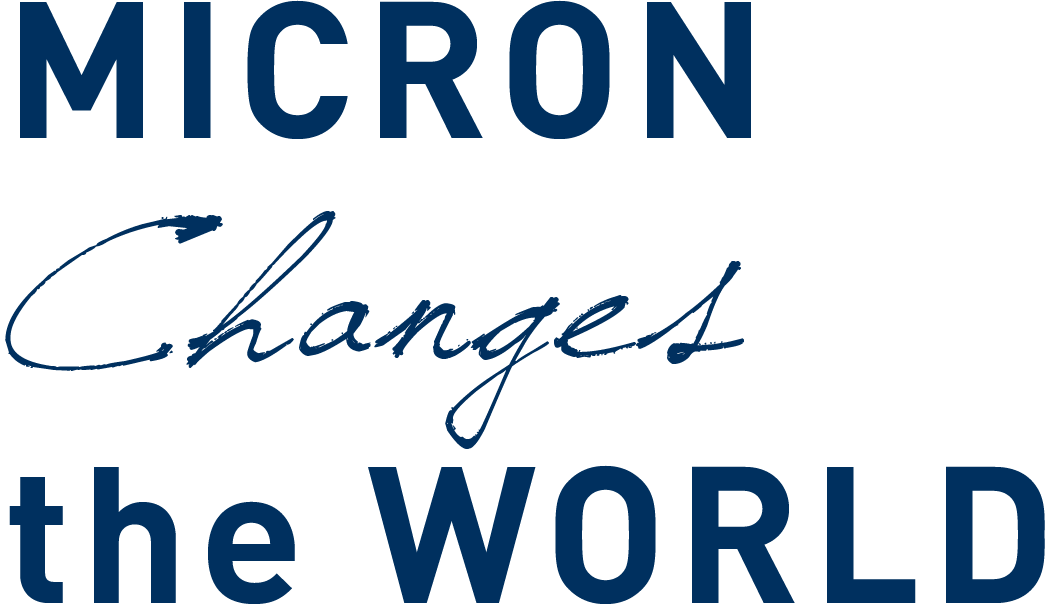 MICRON Changes the WORLD